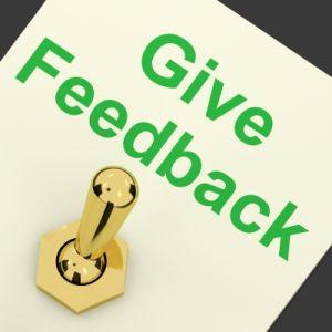 Give Feedback