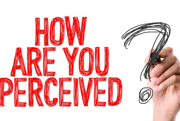 hOW ARE YOU PERCEIVED